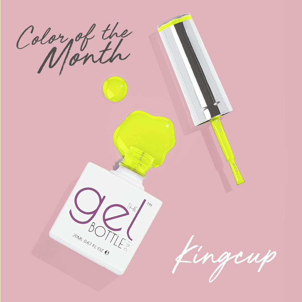 Color of the Month - Kingcup